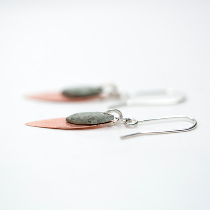 'Seed' Dangle Earrings