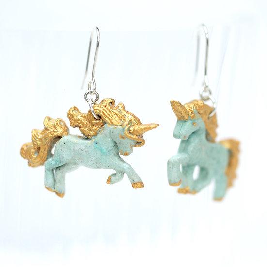 Paper Unicorn Earrings