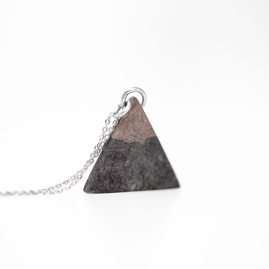 Cherry Triangle Necklace