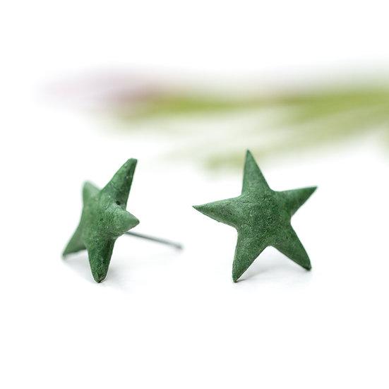 'Star' Paper Studs