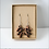Thumbnail: Paper Puzzle Piece earrings