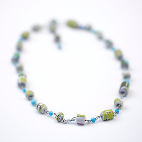 'Map' Necklace