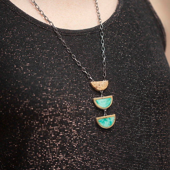 3 Tiered Gloss Necklace