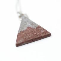 Birch Triangle Necklace