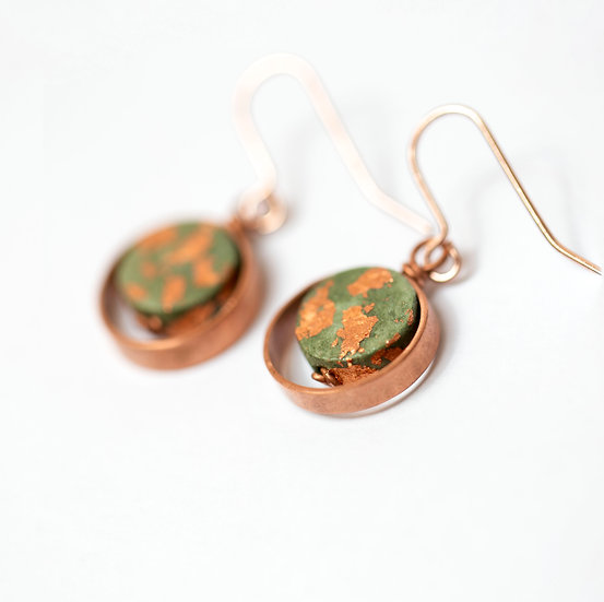 Green Paper and Copper Drops