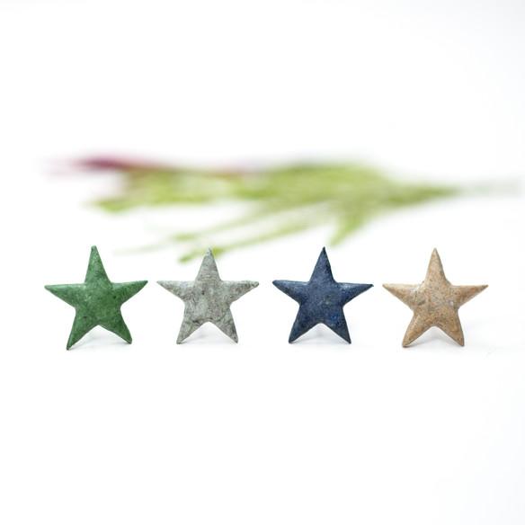 Paper 'Star' Studs
