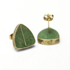 Green 'Shield' Studs