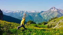 Yoga au Sommet