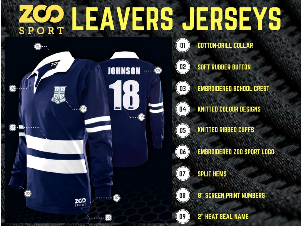 LEAVERS JERSEYS 8