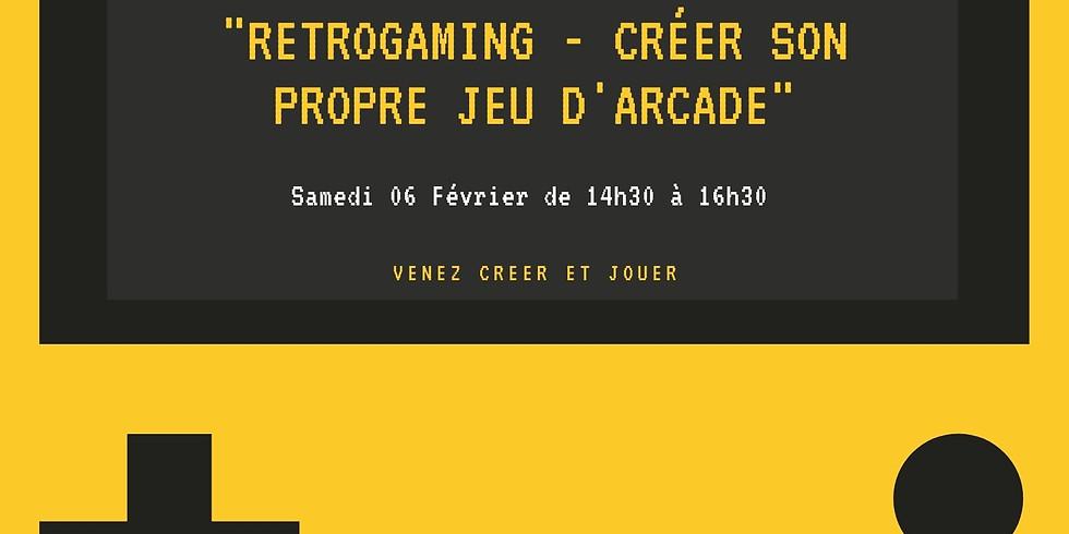 """Animation """"Retrogaming - créer son propre jeu d'arcade"""" - Bidouille Numérique"""
