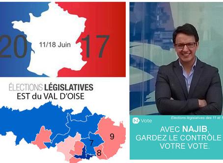 5 questions aux candidat(e)s de l'Est du Val d'Oise. Najib HAMADI (Sans étiquette - 9e circo)