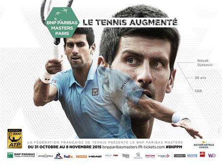 """Vous aimez le tennis ? Alors on vous """"offre"""" des places pour assister aux masters BNPPM 20"""