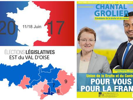 5 questions aux candidat(e)s de l'Est du Val d'Oise. Chantal GROLIER (UDI/LR - 8e circo)