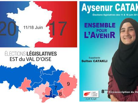 5 questions aux candidat(e)s de l'Est du Val d'Oise. Aysenur CATAKLI, (PEJ - 8e circo)