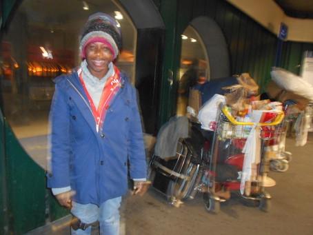 SDF à Roissy : Une présence familière… ou dérangeante