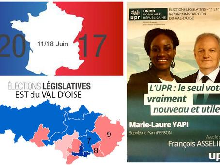 5 questions aux candidat(e)s de l'Est du Val d'Oise. Marie-Laure YAPI (UPR - 8e circo)