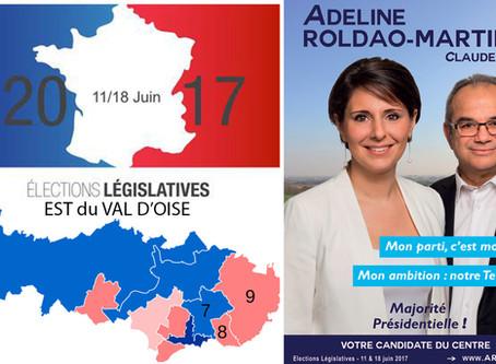 5 questions aux candidat(e)s de l'Est du Val d'Oise. ADELINE ROLDAO-MARTINS (Centre - 9e circo)