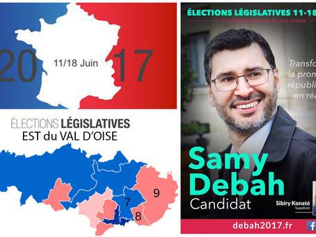 5 questions aux candidat(e)s de l'Est du Val d'Oise. Samy DEBAH, (Sans étiquette - 8e circo)