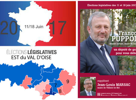 5 questions aux candidat(e)s de l'Est du Val d'Oise. FRANÇOIS PUPPONI (PS - 8e circo)