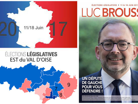 5 questions aux candidat(e)s de l'Est du Val d'Oise. LUC BROUSSY (PS - 9e circo)