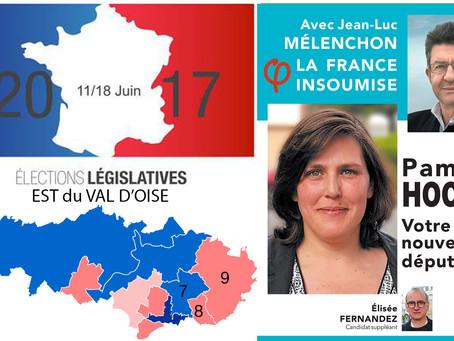 5 questions aux candidat(e)s de l'Est du Val d'Oise. PAMELA HOCINI (France Insoumise - 8e circo)
