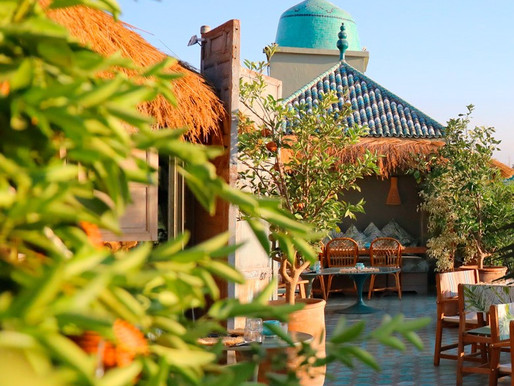 Marrakech's Top Five Rooftops and Courtyards to Inspire Your Patio Decor