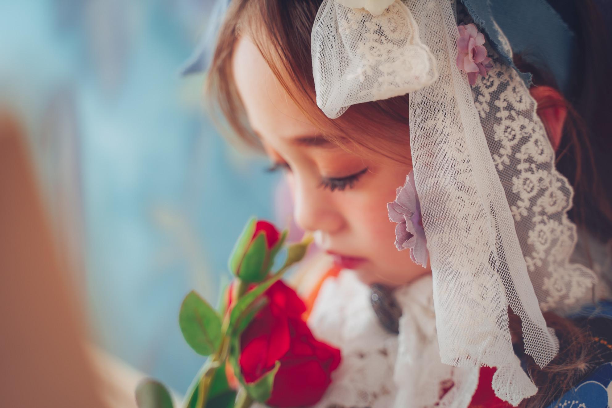 キモノdeアリス撮影 〜トランプ&薔薇〜