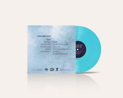 Vinyle edition spéciale bleue, back