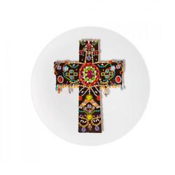 assiette croix