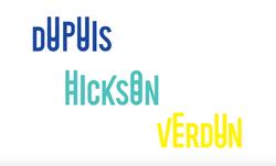 Typhographie conçue à l'occasion