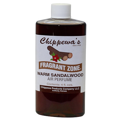 "Chippewa's ""Warm Sandalwood"" Fragrant Zone"