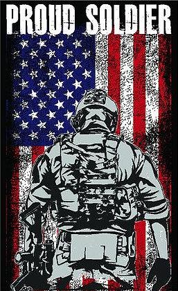 Proud Soldier Vinyl Sticker