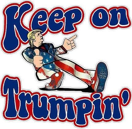 Keep on Trumpin' Vinyl Sticker
