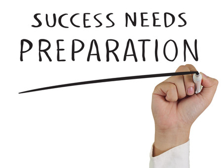 What You Need To Know: PRELIMINARY PREPAREDNESS