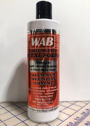 "WAB ""Gray Matter"" Metal Polish Formula #1"