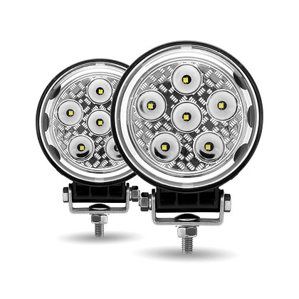 "4.5"" 'Radiant Series' Combination Spot & Flood LED Work Lamp (4300 Lumens) 4.5"""