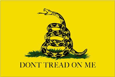 Don't Tread On Me Vinyl Sticker