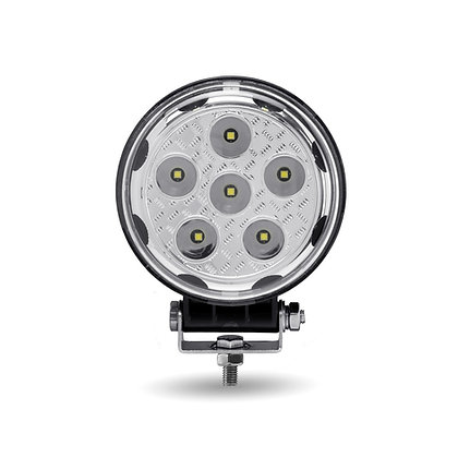 "4.5"" ROUND 'RADIANT SERIES' COMBINATION SPOT & FLOOD LED WORK LAMP WITH 360° SID"