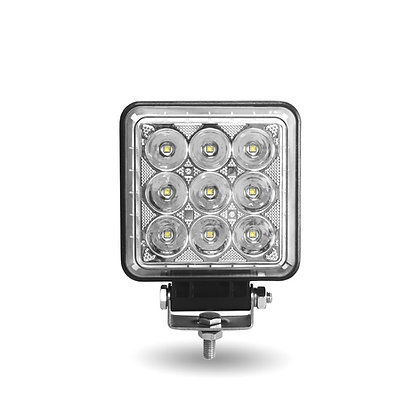 "4.25"" SQUARE 'RADIANT SERIES' COMBINATION SPOT & FLOOD LED WORK LAMP WITH 360° S"