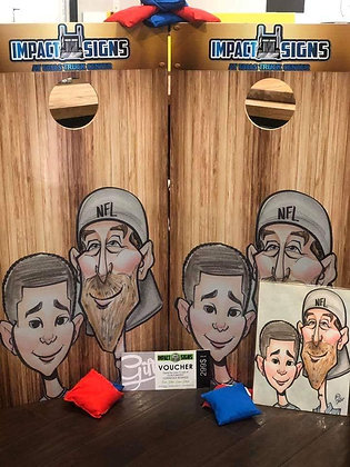 ECONOMY CORNHOLE BOARDS