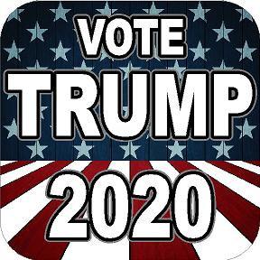 Vote Trump 2020 Vinyl Sticker