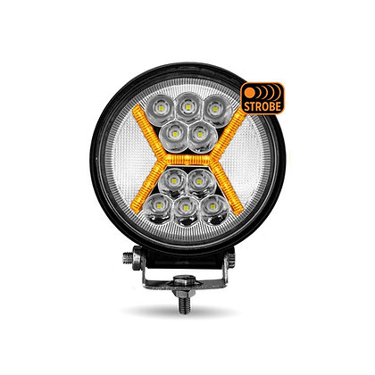 "4.5"" ROUND 'STROBE SERIES' COMBINATION SPOT & FLOOD LED WORK LAMP"