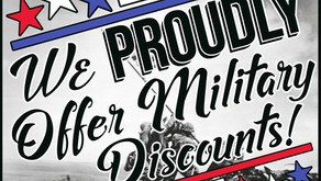 Did you know that we offer military discounts?