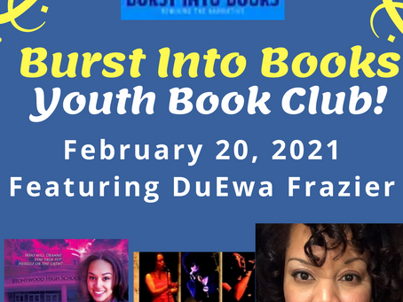 Spring 2021: DuEwa features @ Burst Into Books![Author Talk]