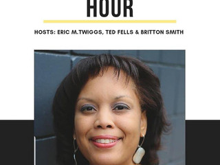 Author DuEwa Frazier features on The 30 Minute Hour Podcast