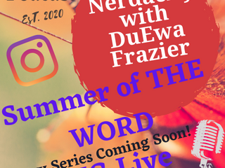 """Summer of the word"" 2021 poetry series"