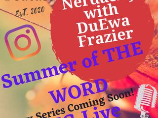 """Summer of the word"" 2021 poetry series"