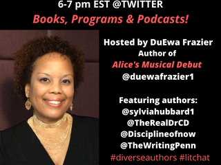 1/24 Books, Programs & Podcasts Lit Chat @Twitter