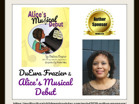 Alice's Musical Debut and Multicultural Children's Book Day!