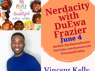 Summer 2021 Nerdacity Podcast features CHILDREN'S AUTHORS